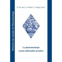 La phénoménologie comme philosophie première
