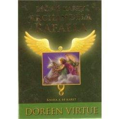 Léčivé karty archanděla Rafaela - kniha + 44 karet