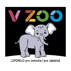 Leporelo pro miminka / pre bábätká - V ZOO