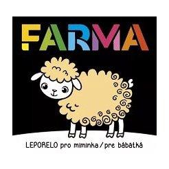 Leporelo pro miminka/pre bábätká - Farma