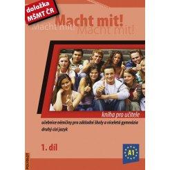 Macht mit! - 1. díl, kniha pro učitele