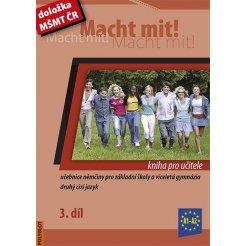 Macht mit! - 3. díl, kniha pro učitele