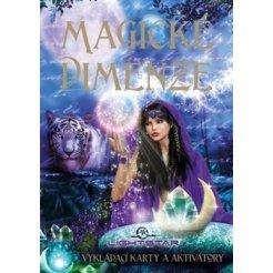 Magické dimenze - vykládací karty a aktivátory, kniha a 44 karet
