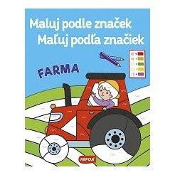 Maluj podle značek/Maľuj podľa značiek - Farma