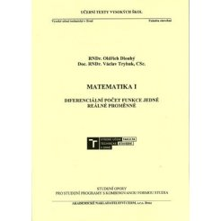 Matematika I. - Diferenciální počet funkce jedné reálné proměnné