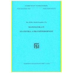 Matematika IV. Statistika a pravděpodobnost