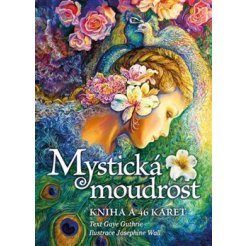 Mystická moudrost, kniha a 46 karet