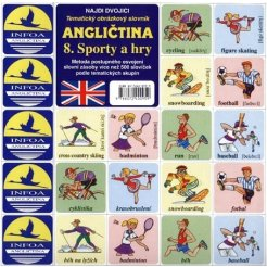 Najdi dvojici - Angličtina - 08. Sporty a hry