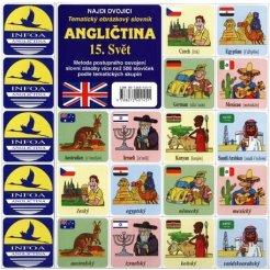 Najdi dvojici - Angličtina - 15. Svět