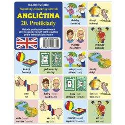 Najdi dvojici - Angličtina - 20. Protiklady