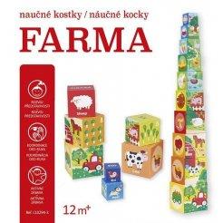 Naučné kostky / Náučné kocky - Farma