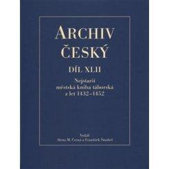 Nejstarší městská kniha táborská zlet 1432 – 1452 - ARCHIV