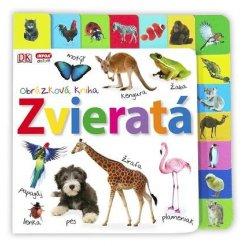 Obrázková kniha - Zvieratá (SK vydanie)