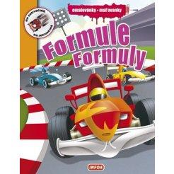 Omalovánky / Maľovanky - Formule / Formuly (CZ/SK vydanie)