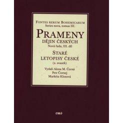 Staré letopisy české (2. svazek). Východočeská větev a některé související texty