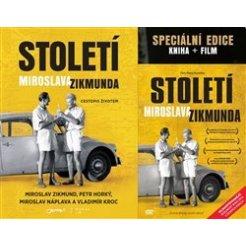 Století Miroslava Zikmunda - dárkové provedení s DVD dotisk
