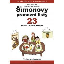 Šimonovy pracovní listy 23 - Rozvoj slovní zásoby A4