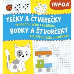 Tečky a čtverečky - Procvič si ručku s kočičkou / Bodky a štvorčeky - Precvič si rúčku s mačičkou