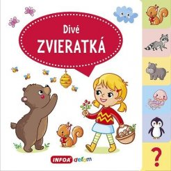 Veľká knižka so záložkami – Divé zvieratká (SK vydanie)