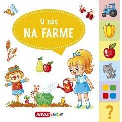 Veľká knižka so záložkami – U nás na farme (SK vydanie)