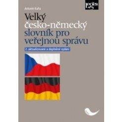 Velký česko-německý slovník pro veřejnou správu, 2. aktualizované a doplněné vydání