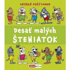 Veselé počítanie - Desať malých šteniatok (SK vydanie)