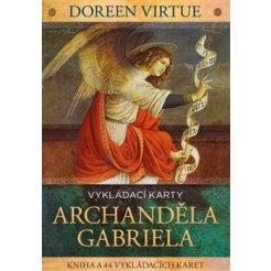 Vykládací karty archanděla Gabriela - kniha + 44 karet