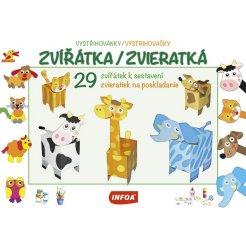 Vystřihovánky - Zvířátka/Zvieratká (CZ/SK vydanie)