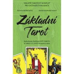 Základní Tarot - Kniha SVĚT TAROTU + 78 Tarotových karet A.E.Waite + váček