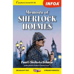 Zrcadlová četba - Memoirs of Sherlock Holmes - (Paměti Sherlocka Holmese) (B1-B2)