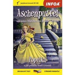 Zrcadlová četba-N- Aschenputtel und andere Märchen der Brüder Grimm(Popelka a jiné pohádky bratří Grimmů)