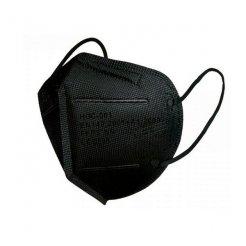 Respirátor HO-Comfort FFP2 čierny 1 ks