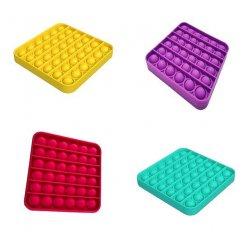 Antistresová senzorická hračka Push Pop Bubble čtverec