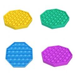 Antistresová senzorická hračka Push Pop Bubble osemuholnik