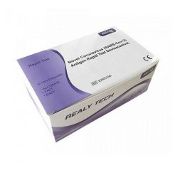 Hangzhou Realy Novel Coronavirus SARS-Cov-2 Antigen Rapid Test Device saliva 5 ks