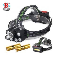 BAILONG čelovka 7X LED UV CREE XM-L3-U3 T78