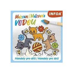 Malování / Maľovanie vodou – Mandaly pro děti / Mandaly pre deti