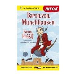 Zrcadlová četba - N - Baron von Münchhausen (Baron Prášil) - (A2-B1)