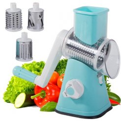 Multifunkčné strúhadlo a krájač ovocia a zeleniny 3v1