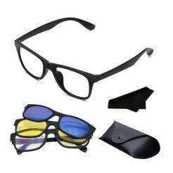 Magnetické okuliare pre vodičov Magic Vision 3v1