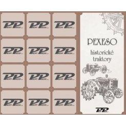 Pexeso - Historické traktory
