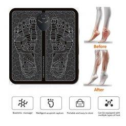 Masážna podložka pod nohy EMS - Elektrostimulátor