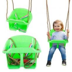 Dětská zahradní houpačka s bezpečnostními pásy