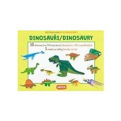 Vystřihovánky - Dinosauři/Dinosaury (CZ/SK vydanie)
