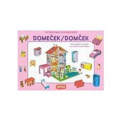 Vystřihovánky - Domeček/Domček (CZ/SK vydanie)
