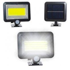 Solární vnější 100 LED osvětlení s pohybovým senzorem