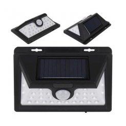 Napelemes kültéri fény, 32 LED, érzékelő, fényerőszabályzó, vezeték nélküli
