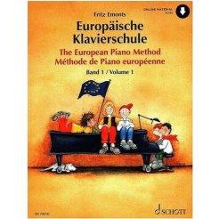 Evropská klavírní škola I., 3.vydání + voucher k stažení online audio materiálu