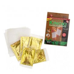 Kinoki Detoxikačné náplaste zázvor + soľ 10 ks