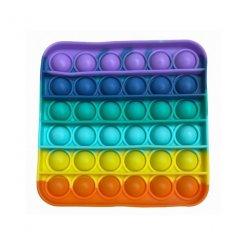 Pop It Rainbow antistresová hračka Štvorec